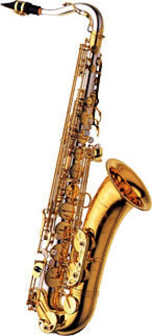 Tenor Sax - Solid Silver Neck & Body - Brass Bell