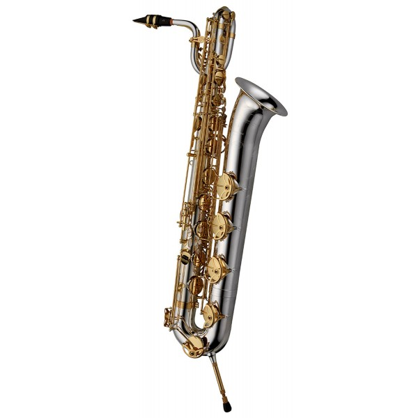 Baritone Sax - Elite Solid Silver Neck & Body - Bronze Silverplated Bell