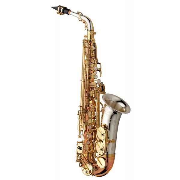 Alto Sax - Solid Silver Bell & Neck - Bronze Body & Bow