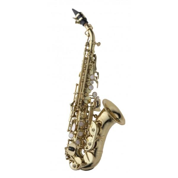 Soprano Sax Curved - Brass
