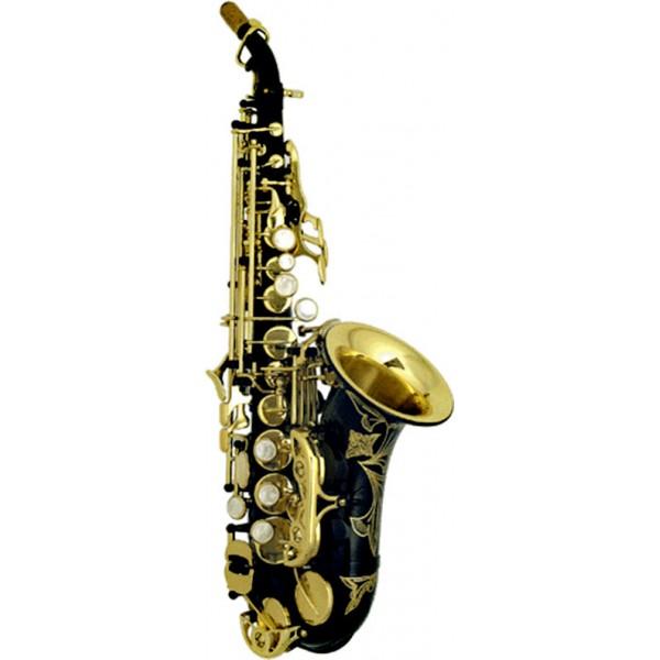 Soprano Sax Curved - Black