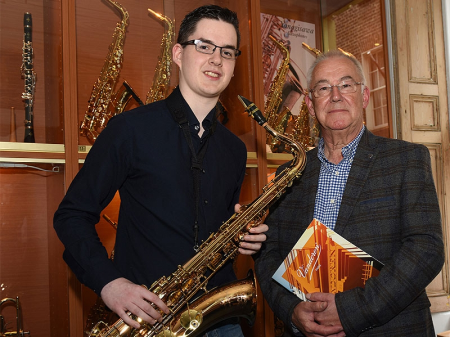 Welcome Robert Finegan - Yanagisawa Saxophones UK artist